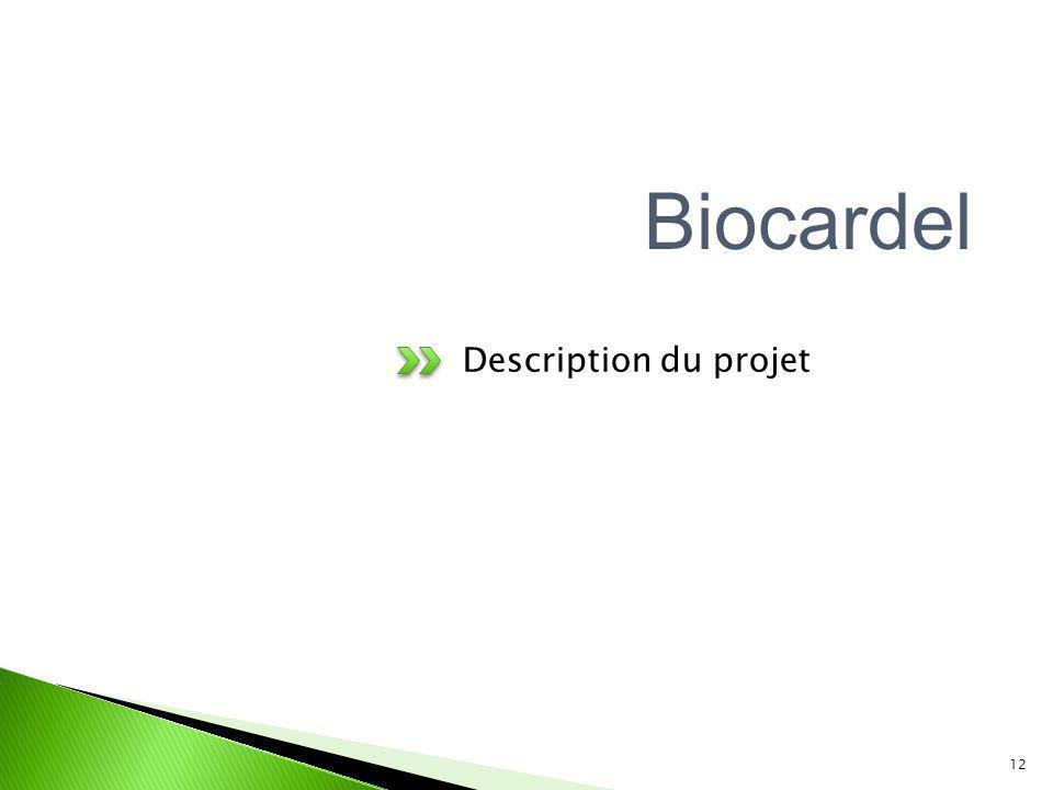 Description du projet 12 Biocardel