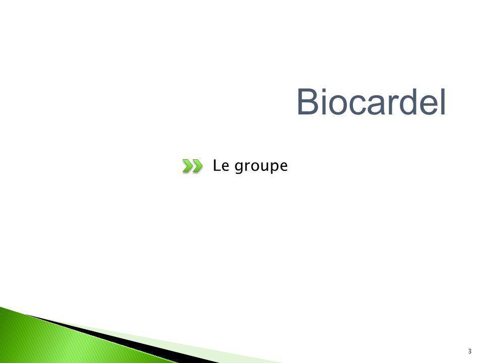 Le groupe 3 Biocardel