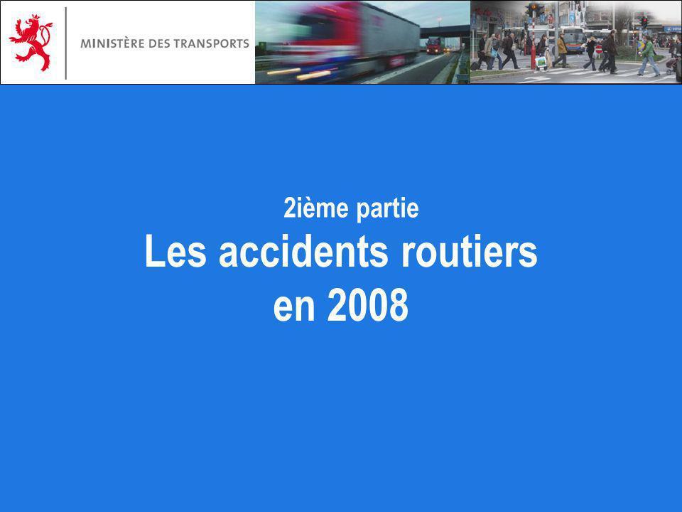 Les accidents routiers en 2008 2ième partie