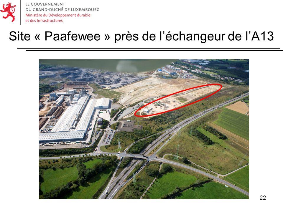 22 Site « Paafewee » près de léchangeur de lA13