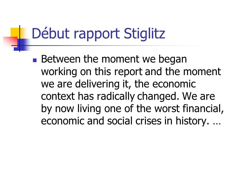 Lexemple des systèmes comptables actuels Les choix implicites Ex dans la construction de la comptabilité nationale et dagrégats comme le PIB Dans les nouvelles normes comptables qui ont joué un rôle démultiplicateur dans la crise financière