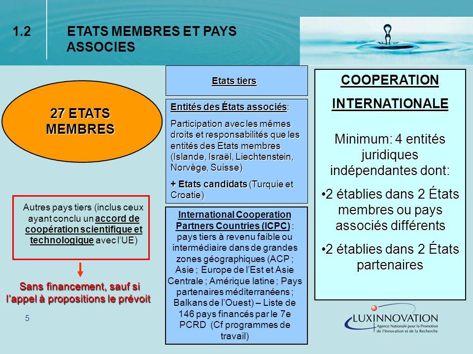 16 Taux de cofinancement par activités - Activités de recherche et développement : 50 % Public bodies (définis comme tel au niveau national) 75 % Ecoles et Université : 75 % Centres de R&D : 75 % (établissement ayant comme activité principale la R&D) PME : 75 % Recherche dans le domaine de la sécurité ayant un impact fort sur les citoyens européens : 75 % -Activités de démonstration : 50 % 4.2 Cofinancement