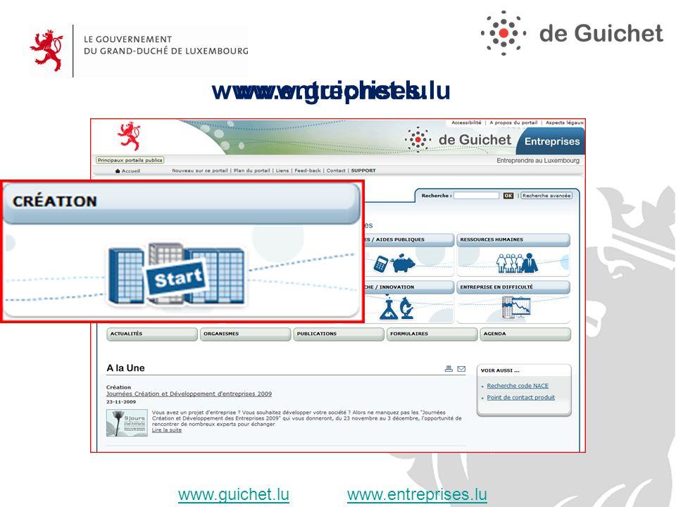 www.entreprises.lu www.guichet.luwww.guichet.lu www.entreprises.luwww.entreprises.lu www.guichet.lu