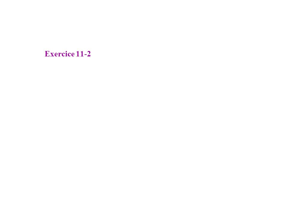 -25 -30 -20 -15 -10 -5 0 5 10 15 20 11-4 Identification de H 4 (p) GAIN (dB) 10 1 10 2 10 -1 10 0 10 -2 10 3 10 4 = 0,2 rad.s -1 = 1/G 0,2 G = 5 Forme confirmée par la phase -3dB Forme confirmée par la phase
