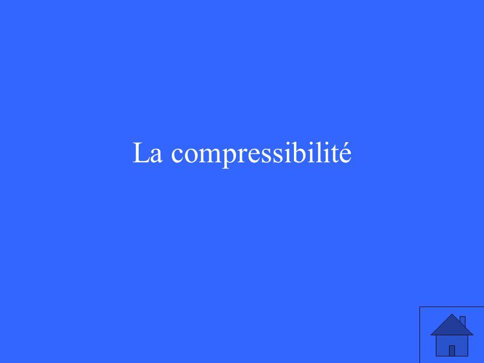 La compressibilité