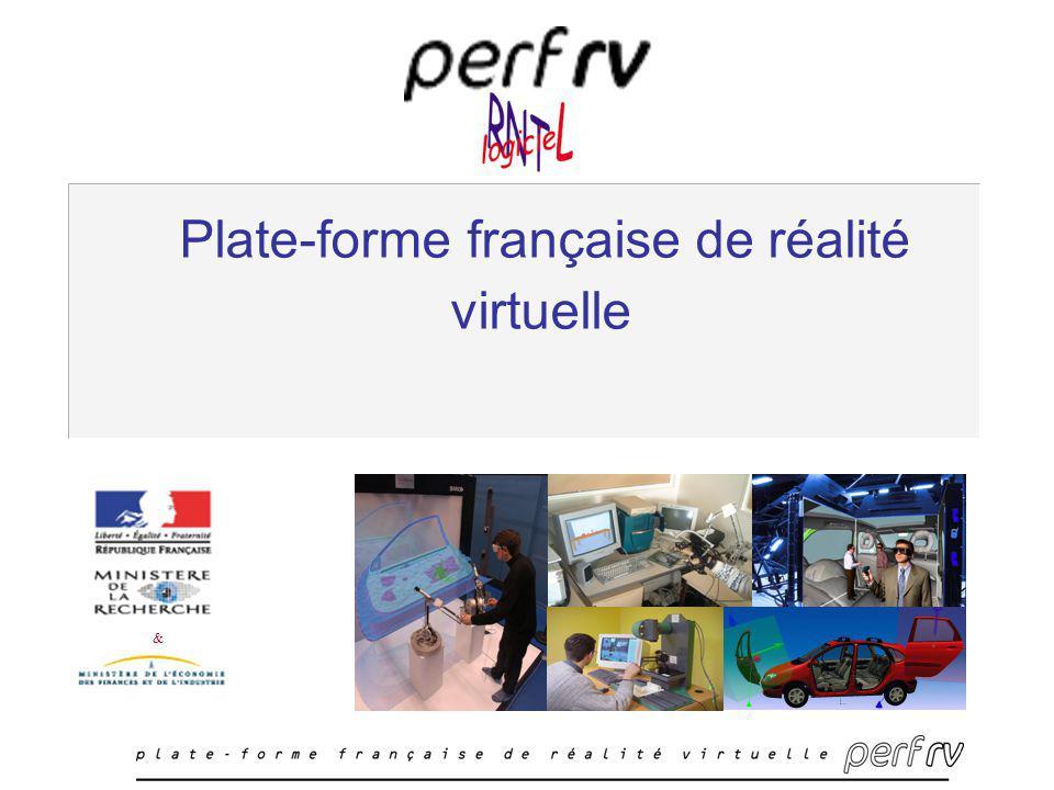 Plate-forme française de réalité virtuelle &