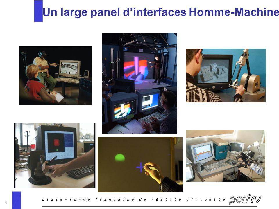 4 Un large panel dinterfaces Homme-Machine