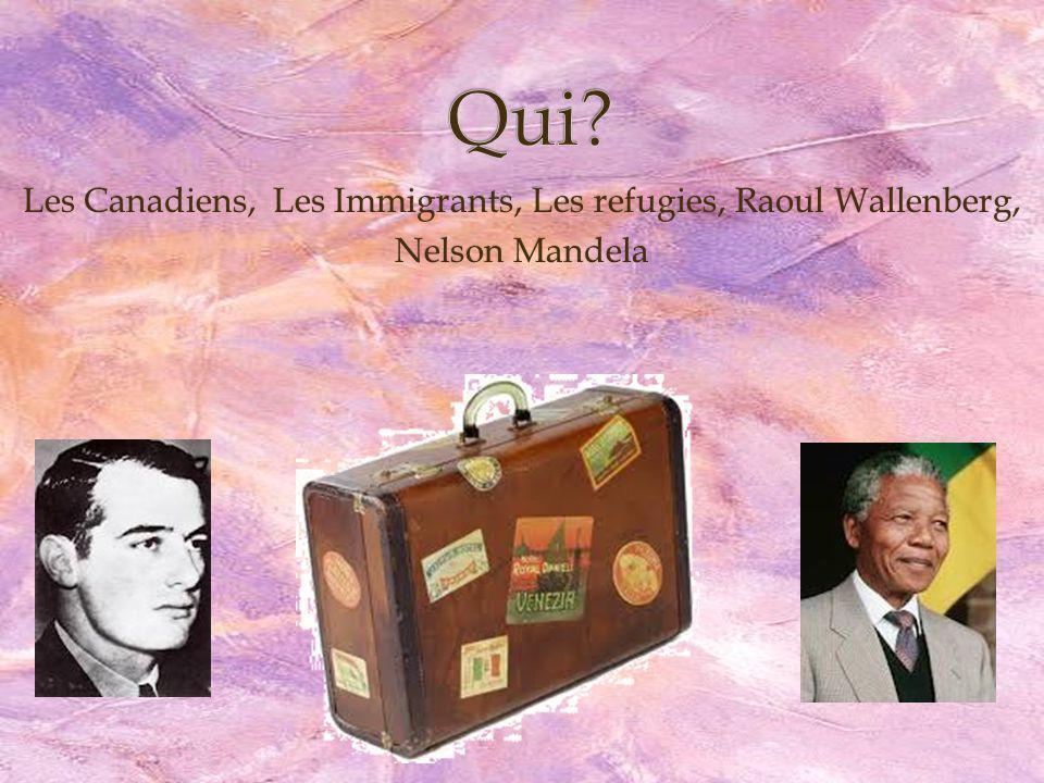 Vrai ou faux 1.Est-ce que Raoul Wallenberg était important?