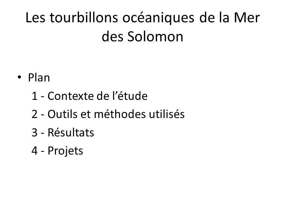 Plan 1 - Contexte de létude 2 - Outils et méthodes utilisés 3 - Résultats 4 - Projets