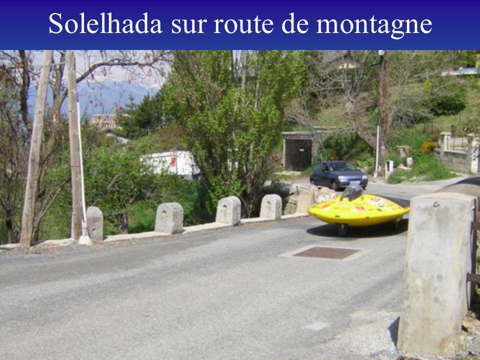 Solelhada sur route de montagne