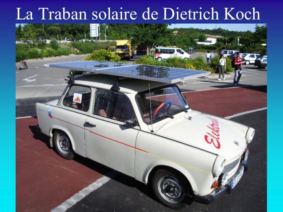 La Traban solaire de Dietrich Koch