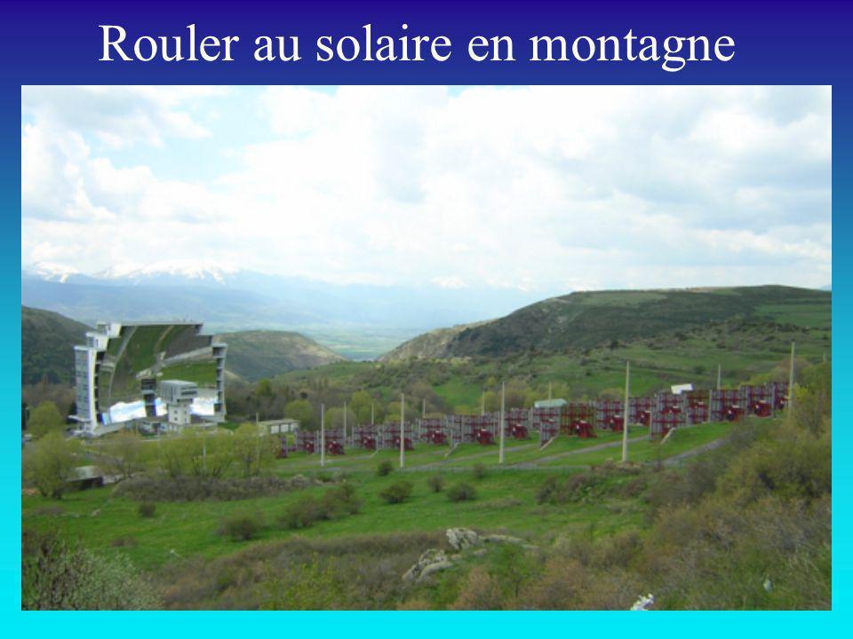 Rouler au solaire en montagne