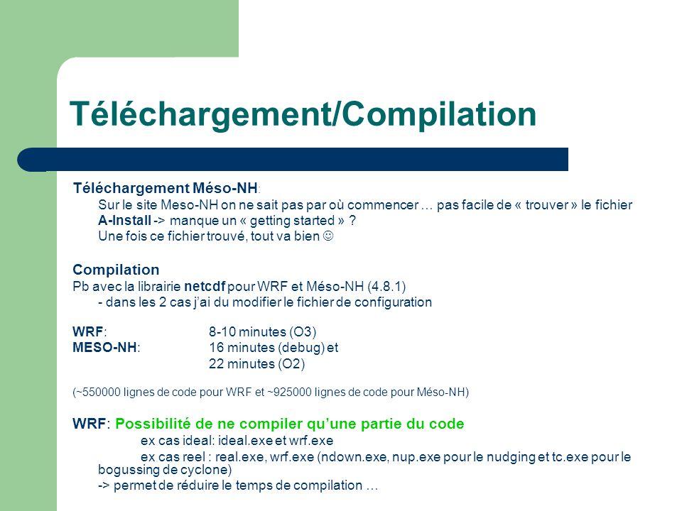 Téléchargement/Compilation Téléchargement Méso-NH : Sur le site Meso-NH on ne sait pas par où commencer … pas facile de « trouver » le fichier A-Insta