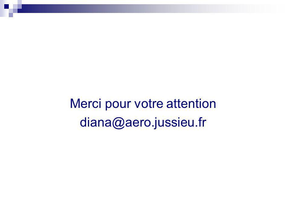 Merci pour votre attention diana@aero.jussieu.fr
