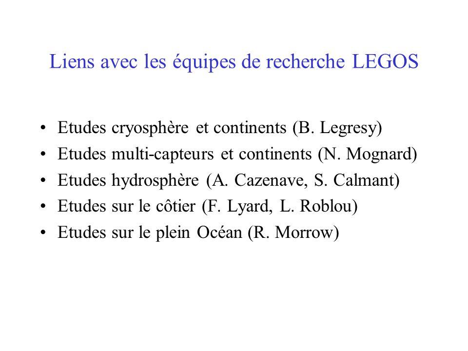 Prochaines échéances Insertion nouveaux champs: correction tropo NCEP, modèle marées FES2004, géoide Grace...