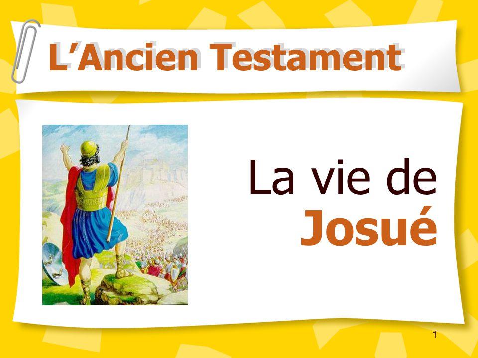 1 La vie de Josué LAncien Testament