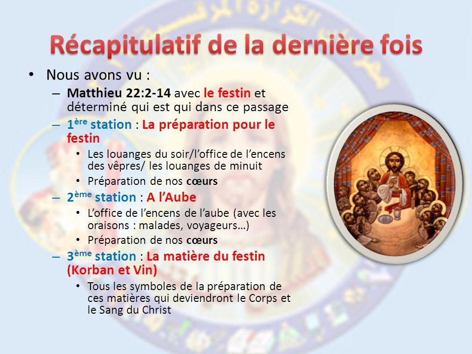 – Pour cela, lEglise choisit une série de passages bibliques qui exprime le point de vue de lEglise pour une certaine occasion.