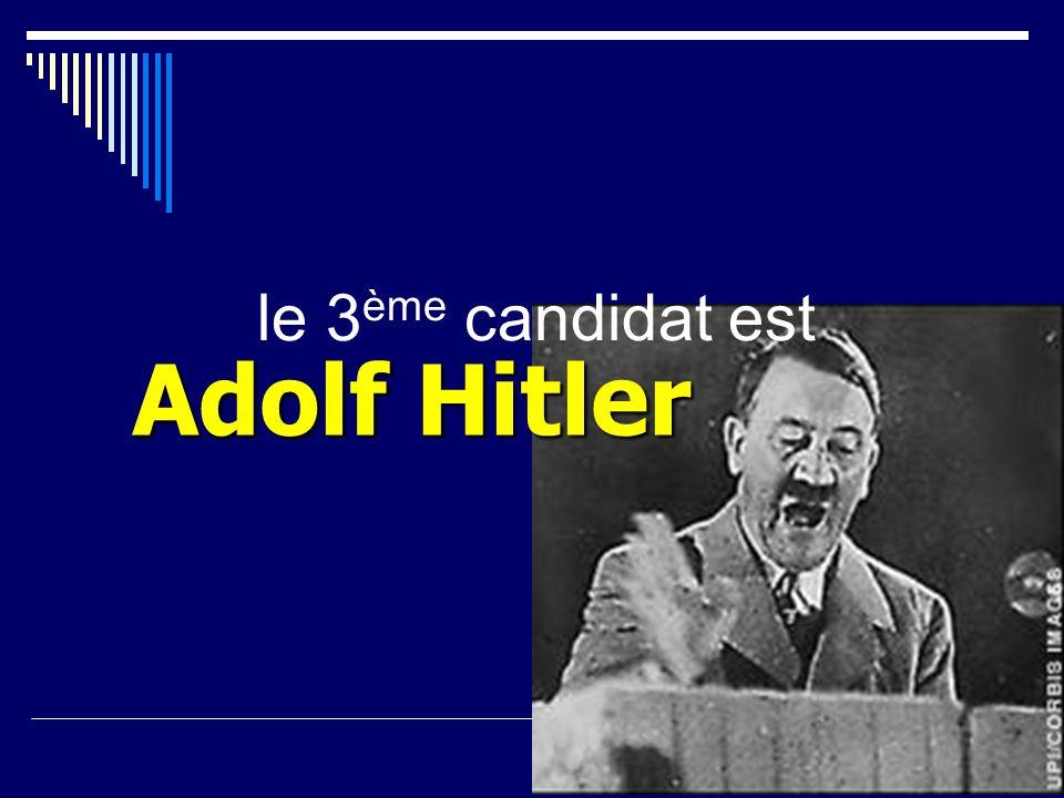 le 2 ème candidat est Winston Churchill