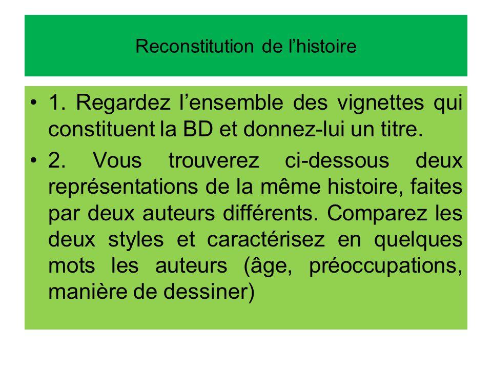 Reconstitution de lhistoire 1.