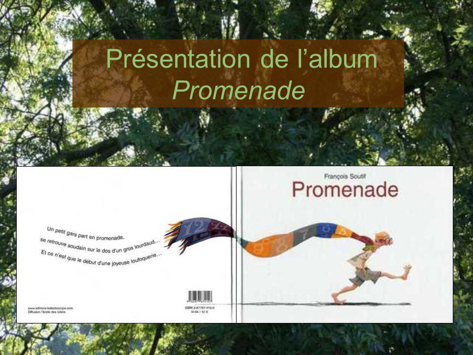 Présentation de lalbum Promenade
