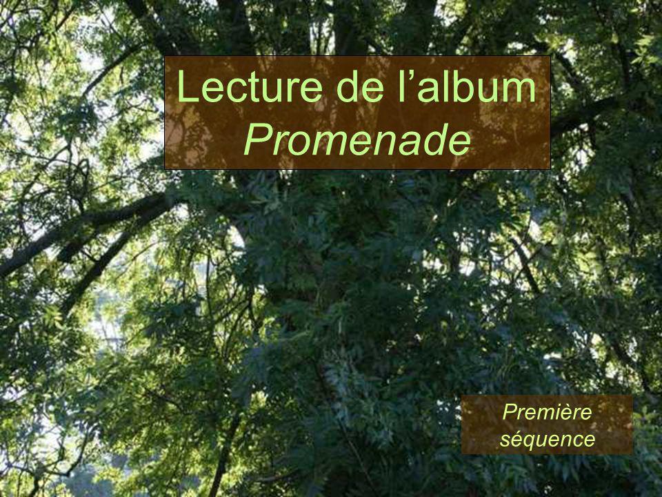 Première séquence Lecture de lalbum Promenade