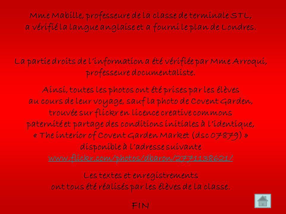 La classe de terminale STL a choisi de mettre ce diaporama en Creative Commons paternité cest-à-dire que lœuvre peut être librement utilisée, à la condition de lattribuer à son auteur en citant son nom : classe de terminale STL promo 2009/2010 du lycée Françoise de Grâce, Le Havre.