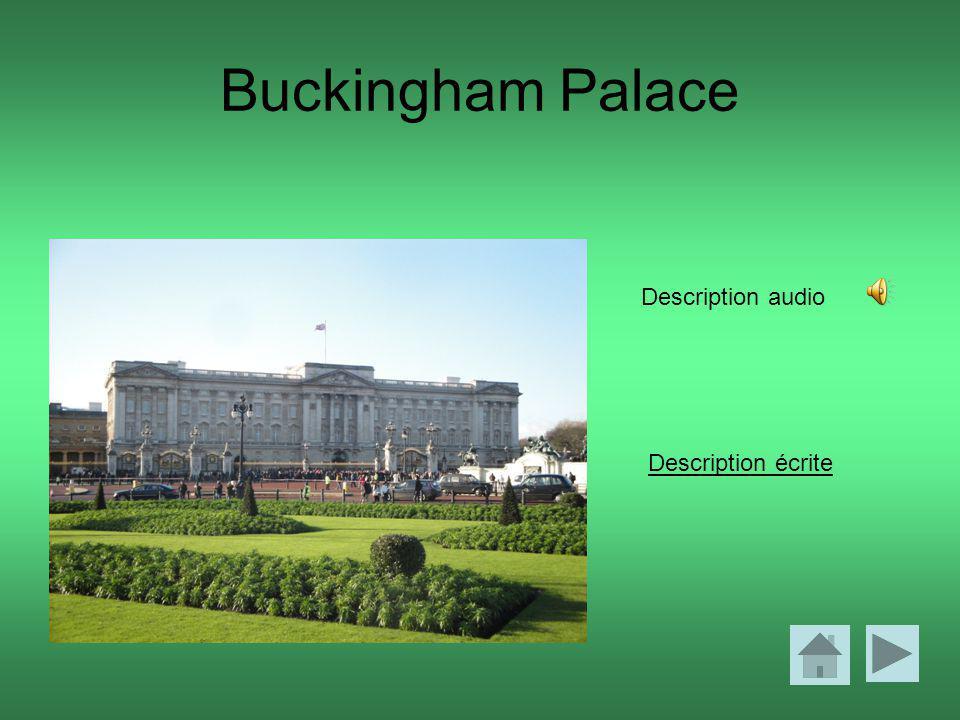 Buckingham Palace Description écrite Description audio