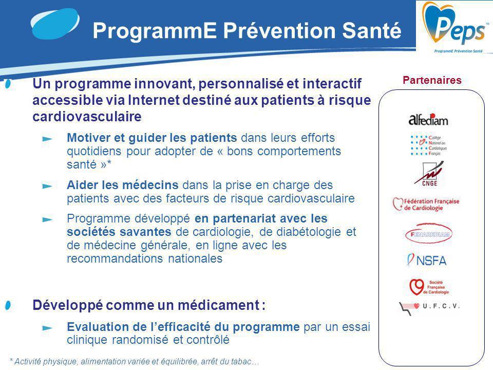 Un programme innovant, personnalisé et interactif accessible via Internet destiné aux patients à risque cardiovasculaire Motiver et guider les patient