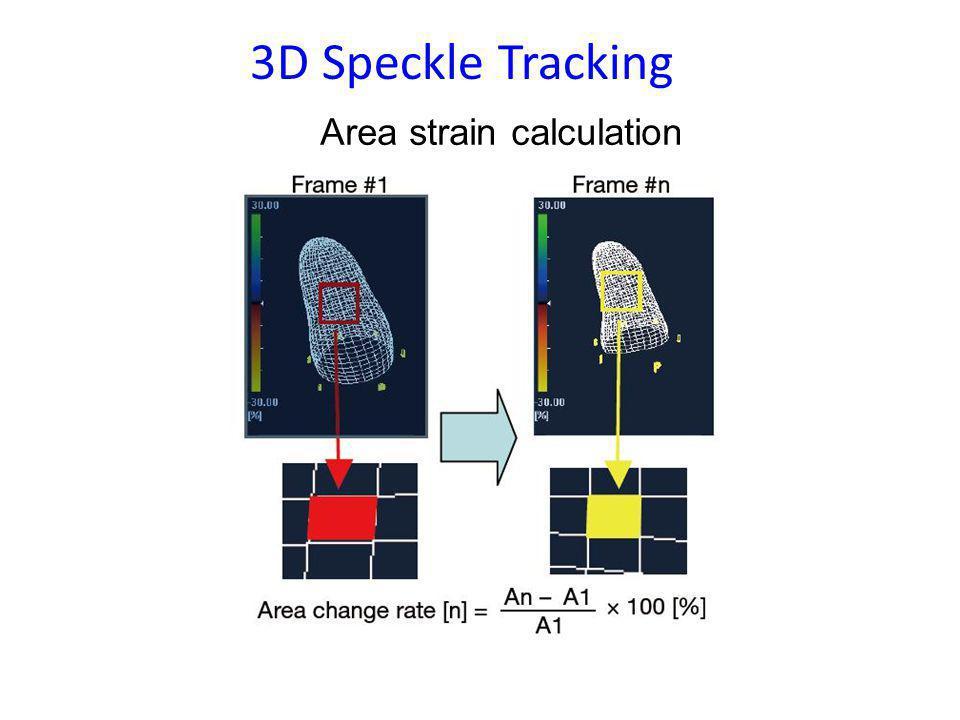 Area strain calculation