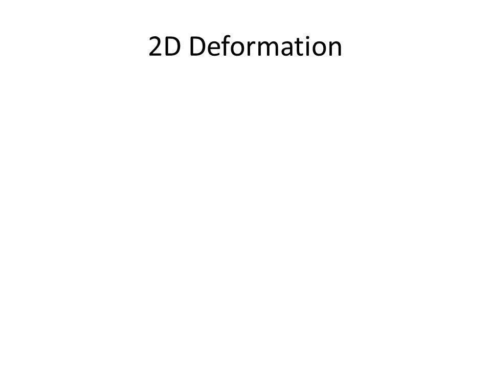 2D Deformation