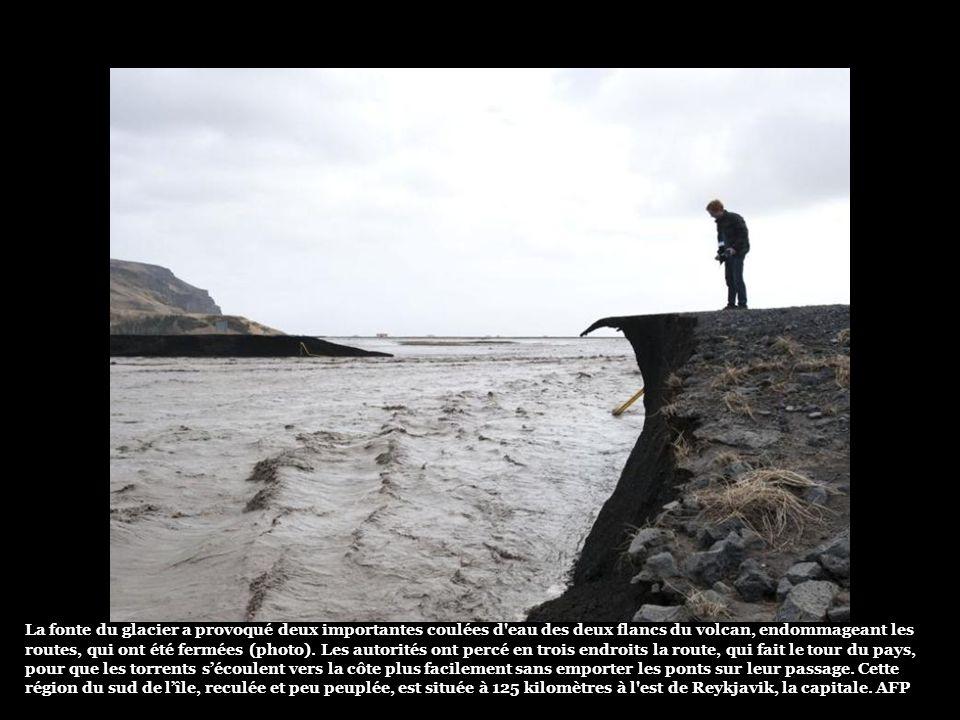 Ni l'éruption ni les inondations n'ont fait pour le moment de victime. Reuters