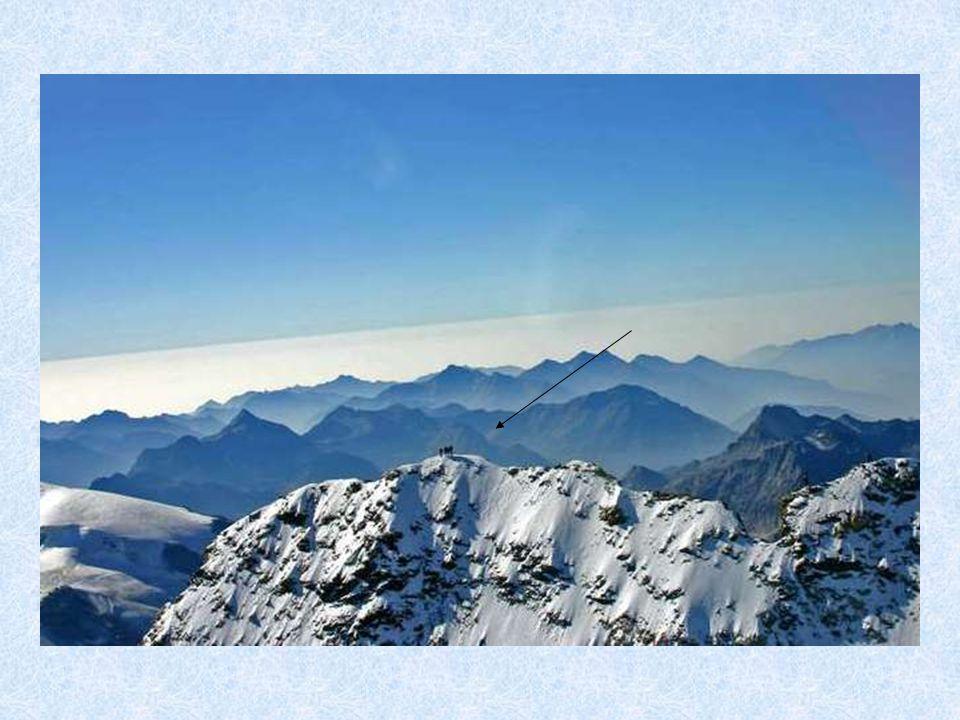 Sommet du Cervin (alpinistes...)