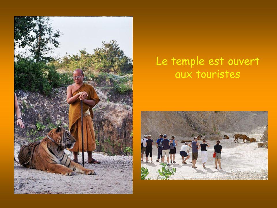 Le temple est ouvert aux touristes