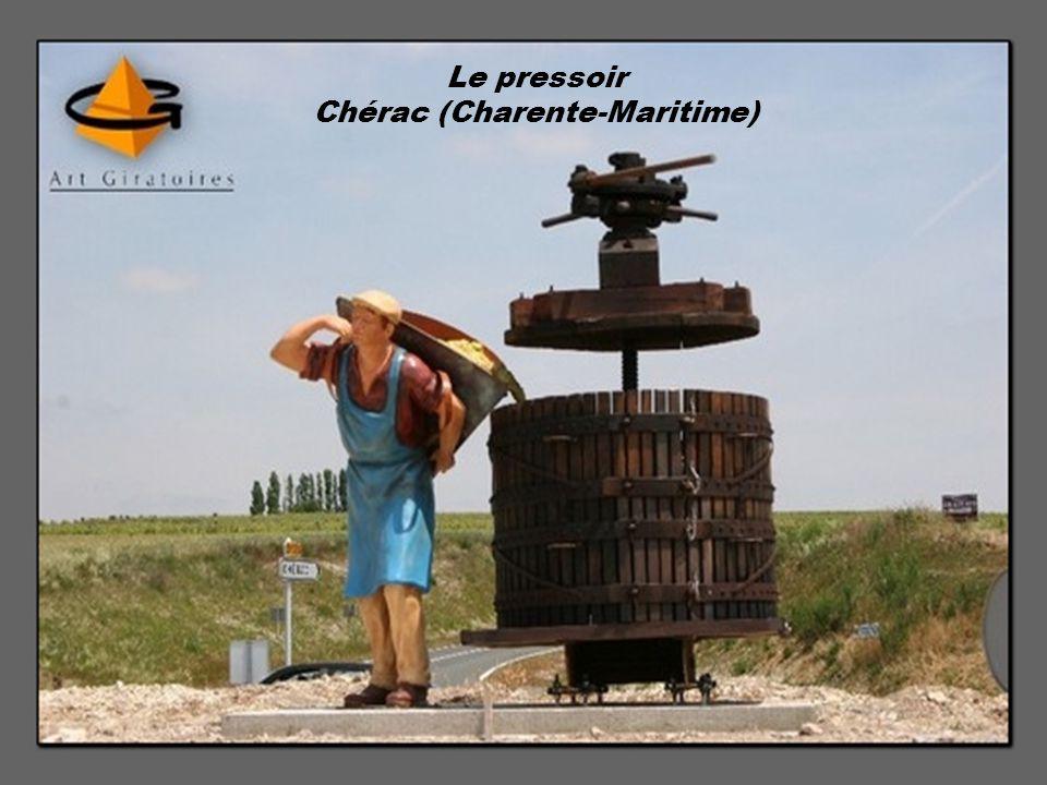Le pressoir Chérac (Charente-Maritime)