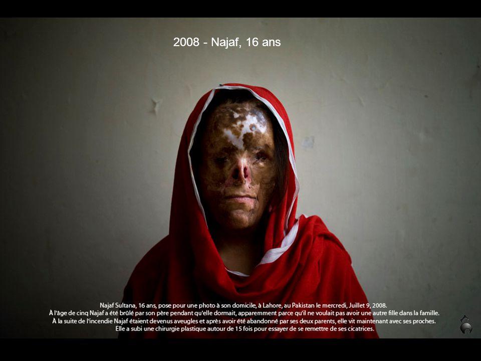 2008 - Najaf, 16 ans