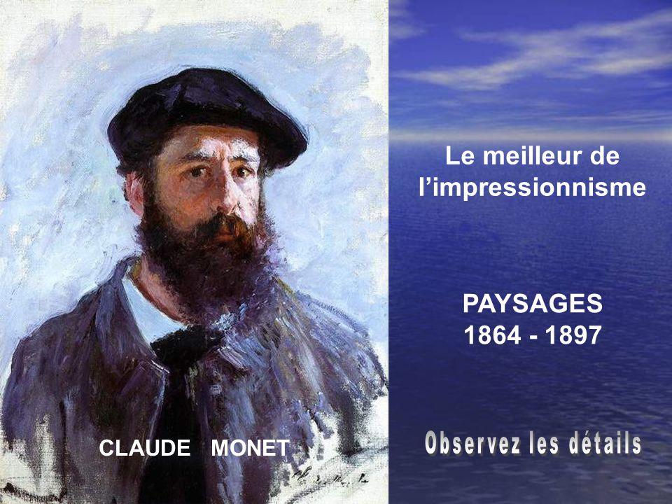 CLAUDE MONET Le meilleur de limpressionnisme PAYSAGES 1864 - 1897