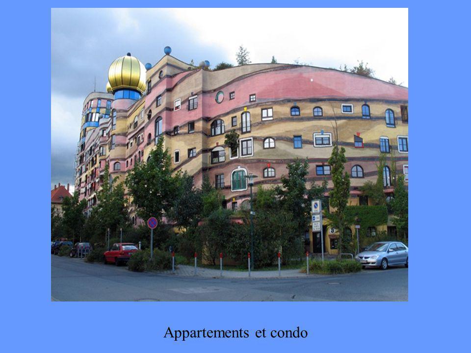 Couleurs dans la ville Rues en couleur Maisons aux formes originales Art sur les voitures Transition: Manuelle et Automatique