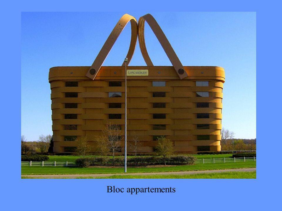 Bloc appartements
