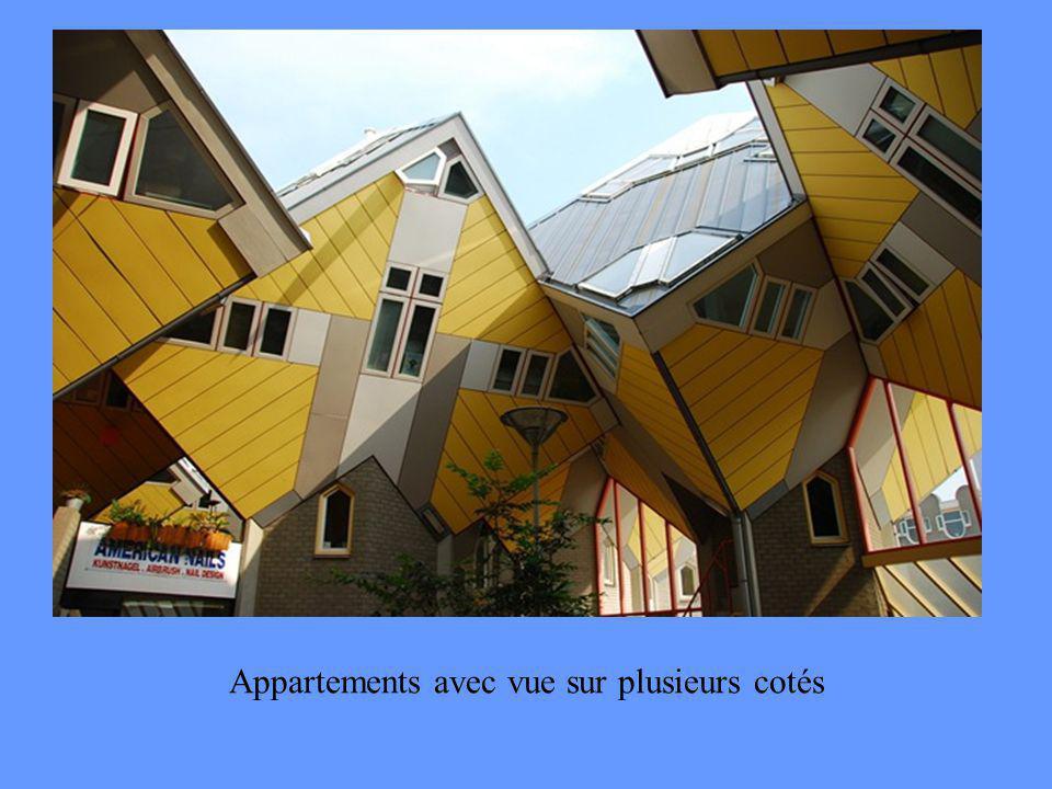 Appartements avec vue sur plusieurs cotés