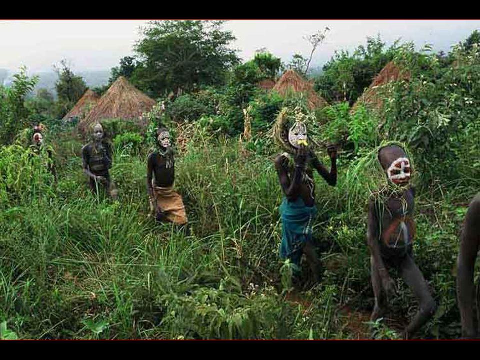 Les tribus de lOmo. Aux confins de lEthiopie, à des siècles de la modernité, Hans Sylvester a photographié pendant six ans des tribus où hommes, femme