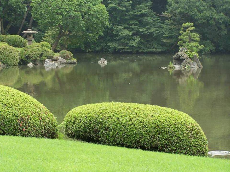 4. Rikugien Gardens - Tokyo, Japan