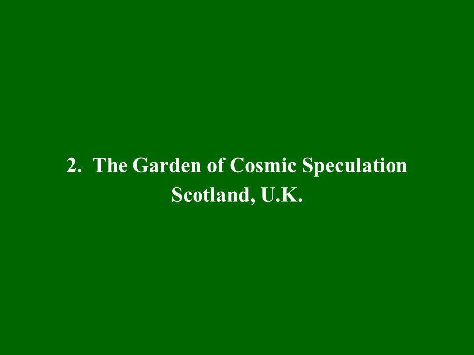 2. The Garden of Cosmic Speculation Scotland, U.K.