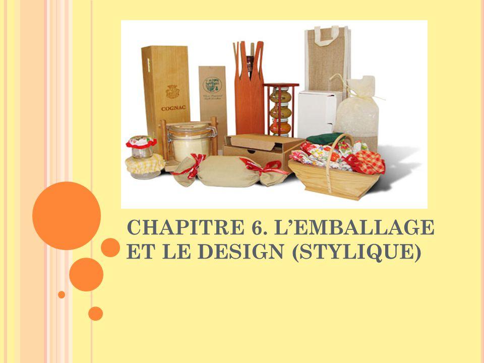 CHAPITRE 6. LEMBALLAGE ET LE DESIGN (STYLIQUE)