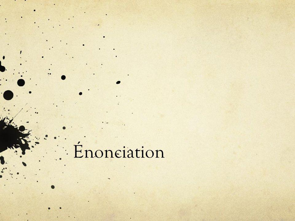 Énonciation