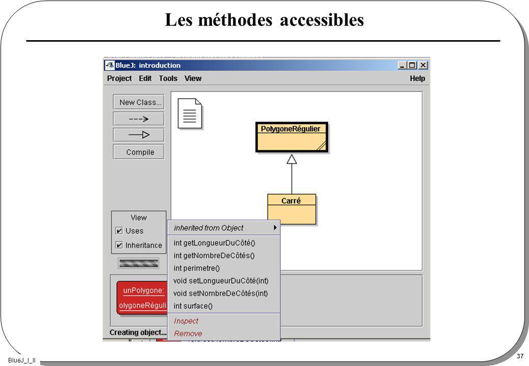 BlueJ_I_II 37 Les méthodes accessibles