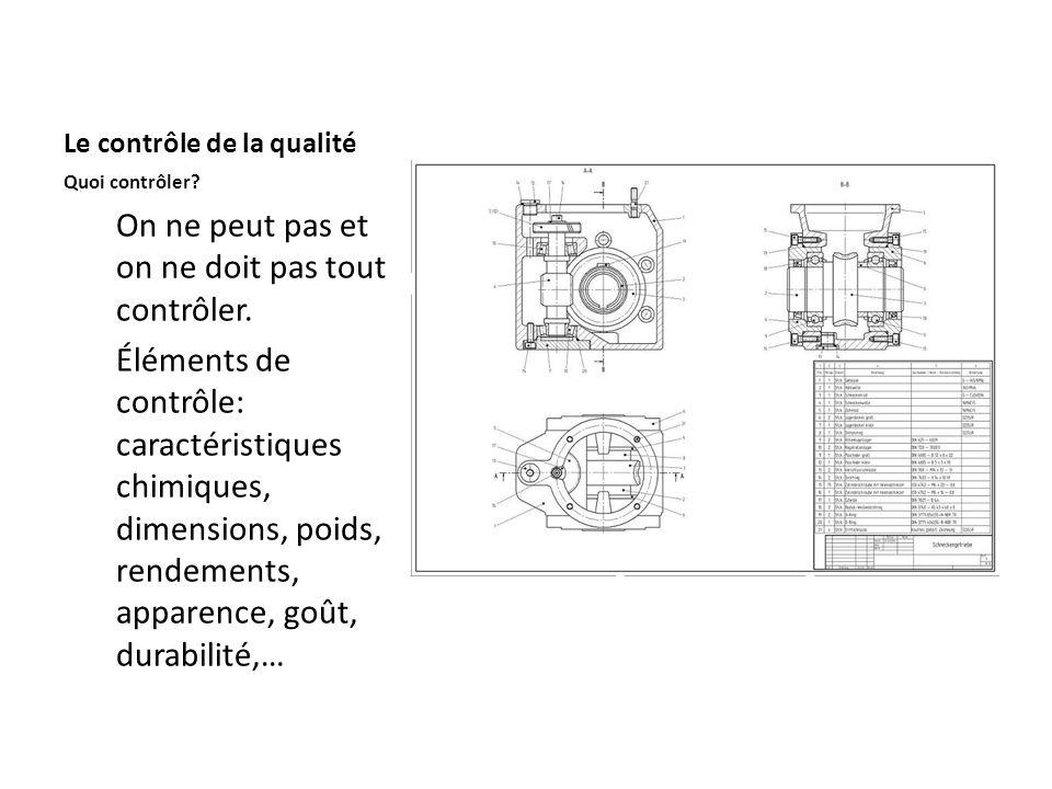 ISO Il existe des normes internationales pour évaluer lassurance de la qualité.