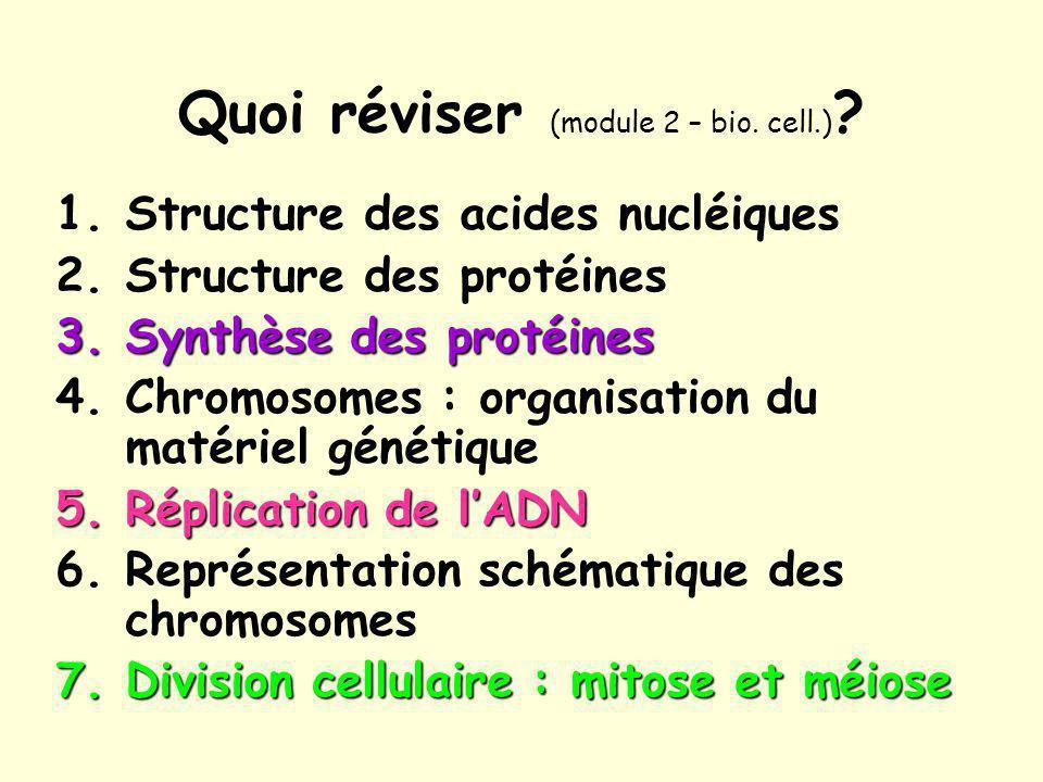1a. Acides nucléiques : structure (Campbell & Reece, 2007)