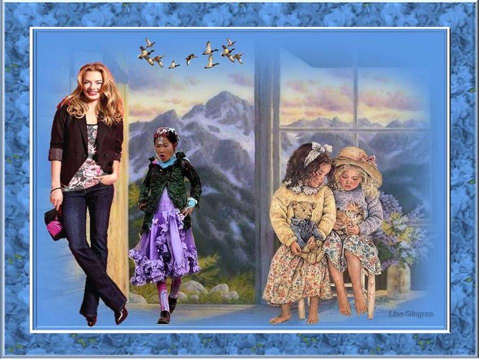 Entre le jour et la nuit, le soleil ou la pluie, Le printemps fait naître la rose de minuit; Le doux vent des montagnes me cajole; Tout est calme, le