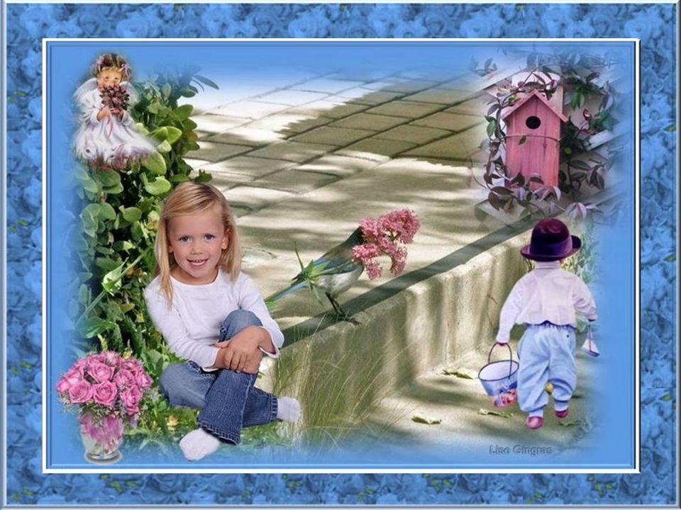 Quel bonheur quand arrive le printemps De sémerveiller devant la rose des vents! Et dans une pensée remplie de délicatesse, Murmurer des mots doux com