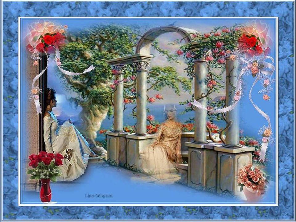 Quel plaisir de découvrir le printemps; Tout se transforme dans les champs; Mon cœur danse chaque jour sans détour; Dans le jardin, les roses sont de